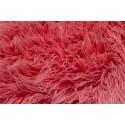 Furry blanket DARK PINK