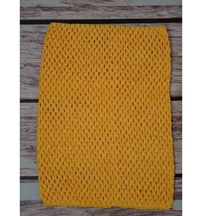 Crochet Tutu Top Yellow 1