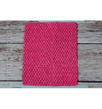 Crochet Tutu Top Pink