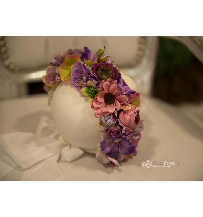 Floral bonnet - MIA NB