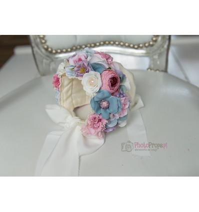 Floral bonnet - AMELIA NB
