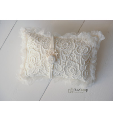 WHITE Positioners pillow + headband