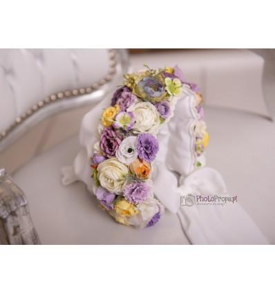 Floral bonnet - DIANA SITTER