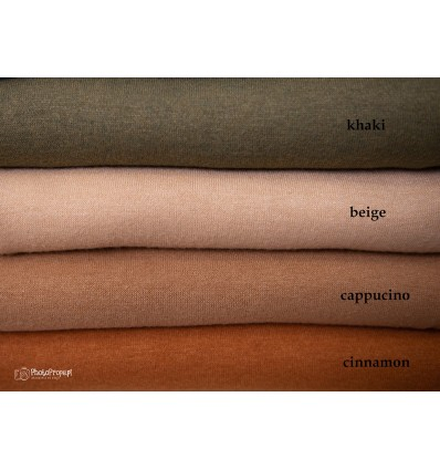 VIVIAN Cinnamon sweater knit backdrop